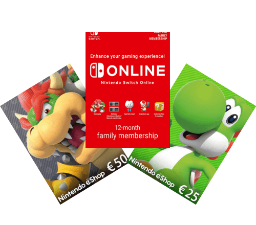 Nintendo SK Header Gamecards