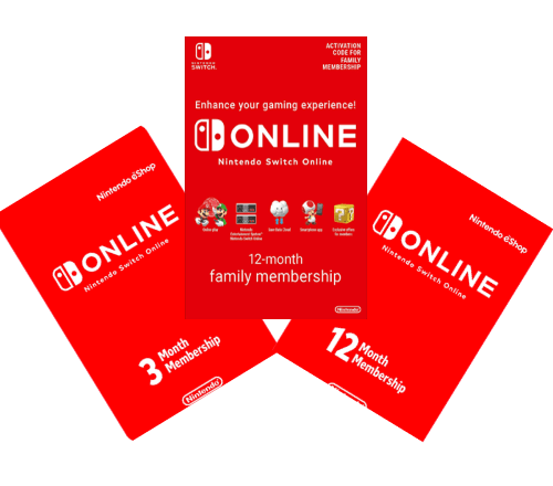 Switch Online Header